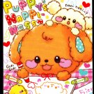 Kamio Japan Puppy Happiness Mini Memo Pad Kawaii