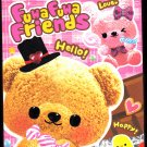 Kamio Japan Fuwa Fuwa Friends Mini Memo Pad Kawaii