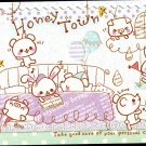 Kamio Japan Honey Town Mini Memo Pad Kawaii