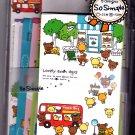 Crux Japan Lovely Town Days Letter Set Kawaii