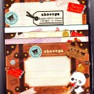San-X Japan Chocopa Letter Set (A) 2012 Kawaii
