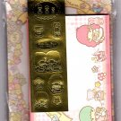 Sanrio Japan Little Twins Stars Letter Set with Stickers by Sun-Star (B) 2010 Kawaii