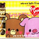 Kamio Japan Best Friends Letter Set with Stickers Kawaii