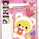 Crux Japan Bear's World Letter Set with Stickers Kawaii