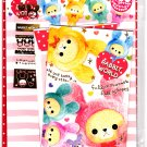 Crux Japan Rabbit World Letter Set with Stickers Kawaii