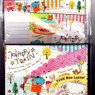 Kamio Japan Happy Train Letter Set Kawaii