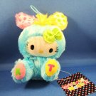 Sanrio Japan Hello Kitty Vivid Rabbit Mascot Plush Strap by Eikoh 2011 Kawaii