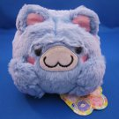 Maruneko Club Japan Blue Cat Fluffy Plush Kawaii