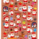 Kamio Japan Merry Christmas Winter Seal Sticker Sheet (A) Kawaii