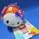 Sanrio Japan Hello Kitty Fish Plush Keychain Strap 2008 Kawaii
