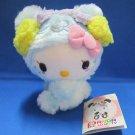Sanrio Japan Blue Panda Hello Kitty Plush 2012 New with Tag Kawaii