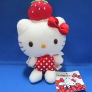 Sanrio Japan Hello Kitty Strawberry Plush by Eikoh 2012 New with Tag Kawaii