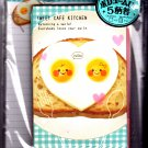 Kamio Japan Sweet Cafe Kitchen Letter Set Kawaii