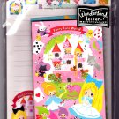 Kamio Japan Fairy Tale World Letter Set with Sticker Kawaii