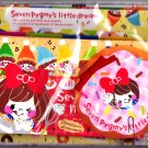 Q-Lia Japan Seven Pygmy's Little Dream Letter Set Kawaii