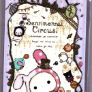 San-X Japan Sentimental Circus Memo Pad with Stickers (A) 2011 Kawaii