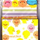 Q-Lia Japan Piyopiyo March See-Through Letter Set with Stickers Kawaii