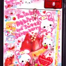 Q-Lia Japan Twinkle Rabirin Letter Set with Stickers Kawaii