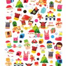 Kamio Japan Winter Seal Christmas Sticker Sheet Kawaii