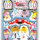 Kamio Japan Fairy Tale World Wedding Greeting Card Seal Sticker Sheet Kawaii