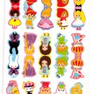 Kamio Japan Fairy Tale World Index 2 Sticker Sheets Kawaii