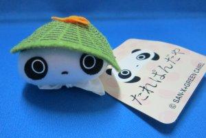 San-X + Green Camel Japan Tarepanda Plush Keychain Strap 2001 Kawaii