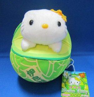 Sanrio Japan Hello Kitty Melon Plush 2004 New with Tag Kawaii