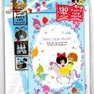 Kamio Japan Fairy Tale World Letter Set with Stickers (A) Kawaii