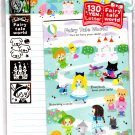 Kamio Japan Fairy Tale World Letter Set with Stickers (H) Kawaii