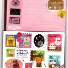 Mind Wave Japan Creamy Ribbon Letter Set with Stickers Kawaii