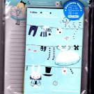 Kamio Japan Alice&#39;s Washday Letter Set with Stickers Rare Kawaii