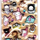 San-X Japan Sentimental Circus Marshmallow Sticker Sheet (B) 2012 Kawaii