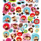 San-X Japan Kireizukin Seikatu Cleaning Raccoon Sticker Sheet (D) 2010 Kawaii