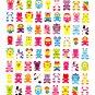 Kamio Japan Lots of Animals Sticker Sheet Kawaii