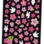Crux Japan Rabbit and Sakura Sticker Sheet Kawaii