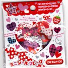 Crux Japan Lots of Hearts Sticker Sack (A) Kawaii