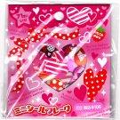 Crux Japan Lots of Hearts Sticker Sack (B) Kawaii