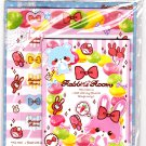 Sho-Bi Japan Rabbit's Room Letter Set with Stickers Kawaii