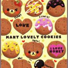 Pool Cool Japan Many Lovely Cookies Mini Memo Pad Kawaii
