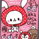 Kamio Japan Aka Usa Chan Mini Memo Pad Kawaii