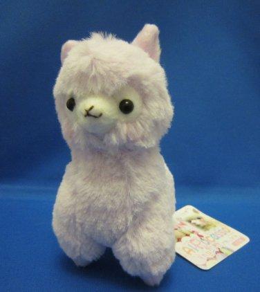 Amuse Japan Light Purple Alpacasso Plush Keychain Strap Kawaii