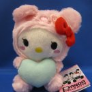 Sanrio Japan Panda Hello Kitty Pink Plush 2010 New with Tag Kawaii