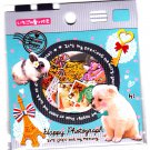 Fortissimo Japan Happy Photograph Sticker Sack Kawaii
