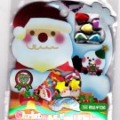 Crux Japan Christmas Seal Flake Sticker Sack Kawaii