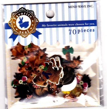 Mind Wave Japan Favorite Seal Sticker Sack Kawaii