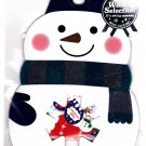 Mind Wave Japan Winter Selection Snowman Sticker Sack Kawaii