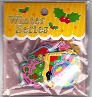 Steadfast Japan Winter Series Christmas Sticker Sack Kawaii