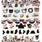 San-X Japan Sentimental Circus Sticker Sheet (A) 2012 Kawaii