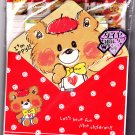 Kamio Japan Lovely Friend Letter Set with Stickers Kawaii