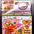 Stead Fast Japan Maple Honey Cake Letter Set with Stickers Kawaii